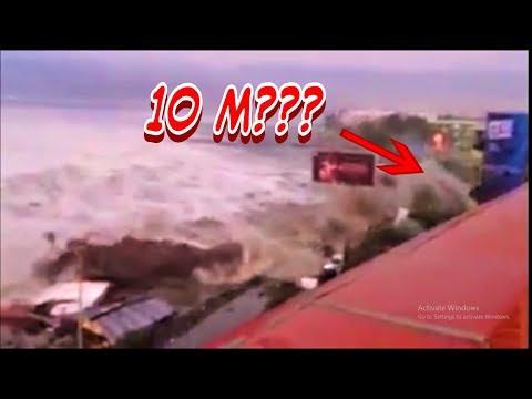 [LENGKAP] Detik-detik tsunami palu!!! Tsunami palu indonesia 2018!!!