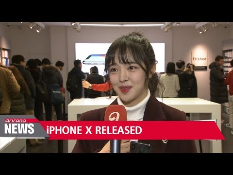 Apple's iPhone X finally lands in Korea