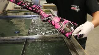 VisionProCoating.com Muddy Girl Camo- Hydrographic Water Transfer Printing