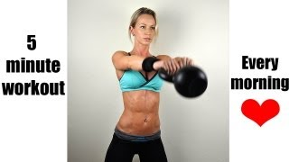 5 Minute Daily Workout That Makes a Huge Difference! by Zuzka Light