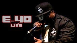E-40 - 'Yay Area!' (live)