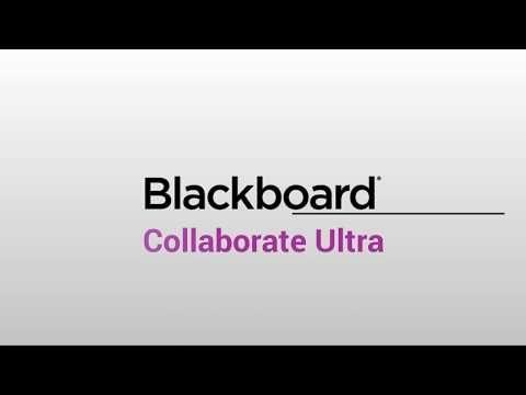 Tour de la interfaz de Blackboard Collaborate Ultra
