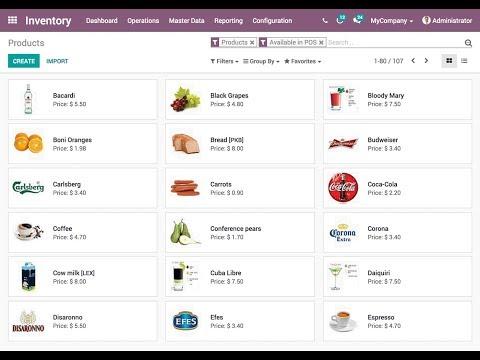 Distribution #OdooWebinar - One ERP for your Food/Beverage Distribution Business - odoo V12