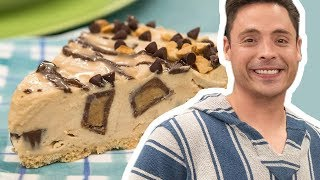 Jeff Mauro Makes A No-Bake Chocolate-Peanut Butter Pie | Food Network