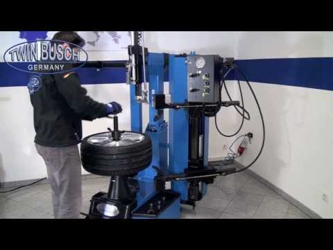 Reifenmontagemaschine - Automatik von Twin Busch ® Germany - TW X-59 www.twinbusch.de