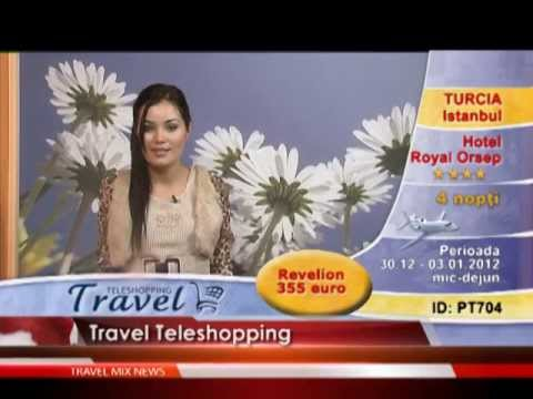 Travel Teleshopping, numai la Travel Mix Channel!