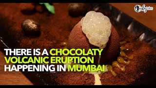 Chocolate Volcano At SpiceKlub In Lower Parel