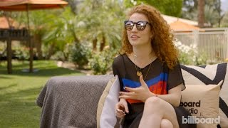 "Jess Glynne Coachella Interview: Running Late for Her Set & ""Hold My Hand"" Going Straight to the Top"