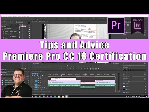 Premiere Pro CC 18 Certification Exam Tips and Advice - YouTube