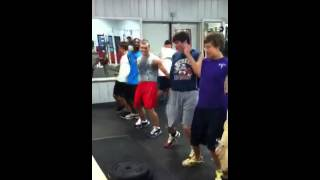 Yeah weight lifting at Haralson county highschool lol