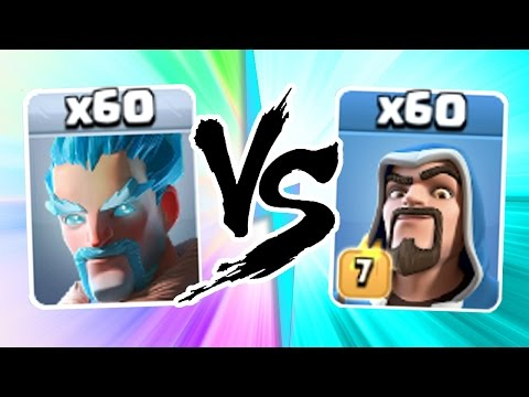 "Video Clash Of Clans - ""THE TRUTH"" - ICE WIZARDS vs WIZARDS!! - EPIC TROOP CLASH!"