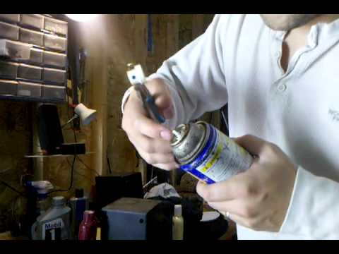 Recharge An Aerosol Can With An Air Compressor