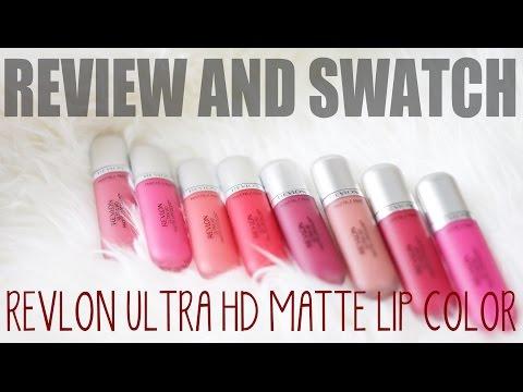 Ultra HD Matte Lipcolor by Revlon #7