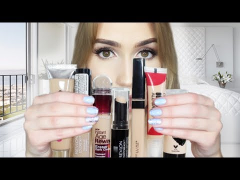 """Trying 7 of """"The Best"""" DRUGSTORE CONCEALERS For A WEEK! 