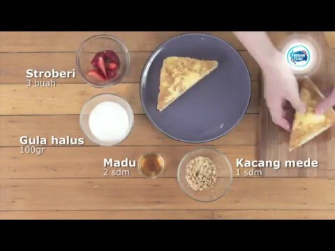 Video Menu Sarapan Sempurna - Roti Panggang Apel Madu