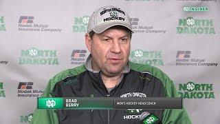 UND hockey - Brad Berry press conference 3/22/16