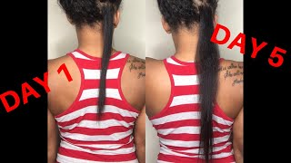 RICE WATER FOR HAIR GROWTH | 5 DAY RICE WATER CHALLENGE ♡