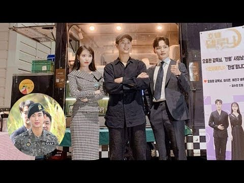 Kim Soo Hyun caught attention when wearing slippers to the filming supporting IU and Yeo Jin Goo!