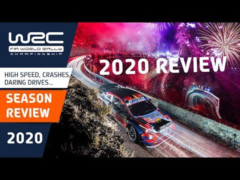 WRC 2020年シーズンの名シーンハイライト動画