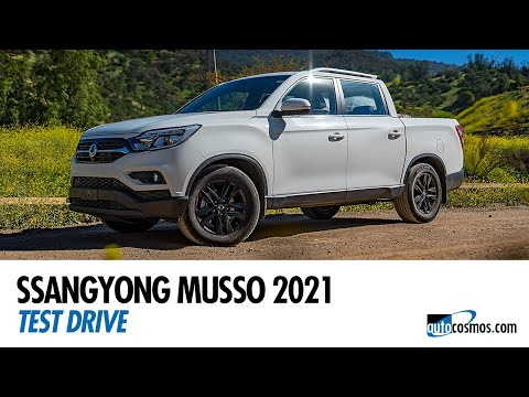 Test drive SsangYong Musso 2021