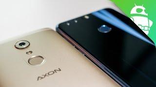 ZTE Axon 7 vs Honor 8