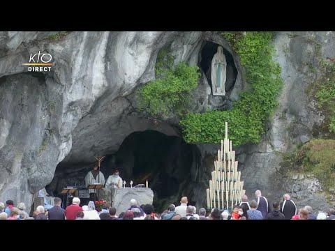 Messe de 10h à Lourdes du 12 juin 2021