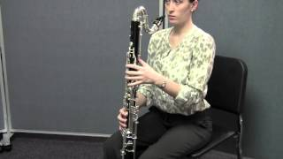 Bass Clarinet - Posture, Hand Position, and Embouchure