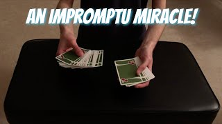 Really Cool Version Of ACAAN! (Any Card At Any Number) Impromptu Card Trick Performance/Tutorial