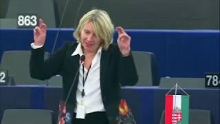 Morvai a Beke István és Szőcs Zoltán elleni koncepciós eljárásról, Jourova EU biztos válaszával. Kék