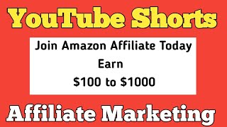 How to Create an Amazon Affiliate Account For YouTube Shorts