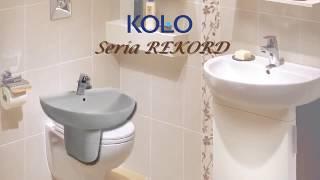 Умывальник Kolo Rekord 50 мебельный видео