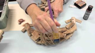 Crankin Out Crafts -ep411 Distressing Driftwood