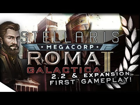 Stellaris - Ecumenopolis Overview (MegaCorp just went Global