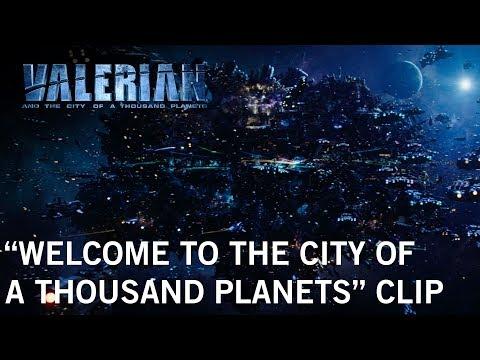《星際特工瓦雷諾:千星之城》最新延長片段介紹美麗的外星城市