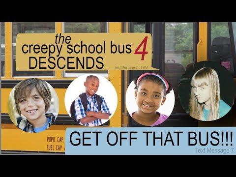 THE CREEPY SCHOOL BUS DESCENDS text story