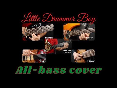 """Alex's all-bass arrangement of """"Little Drummer Boy"""""""