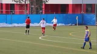 preview picture of video 'Bornaer SV 91 - BC Hartha | Treffer zum 5:0'