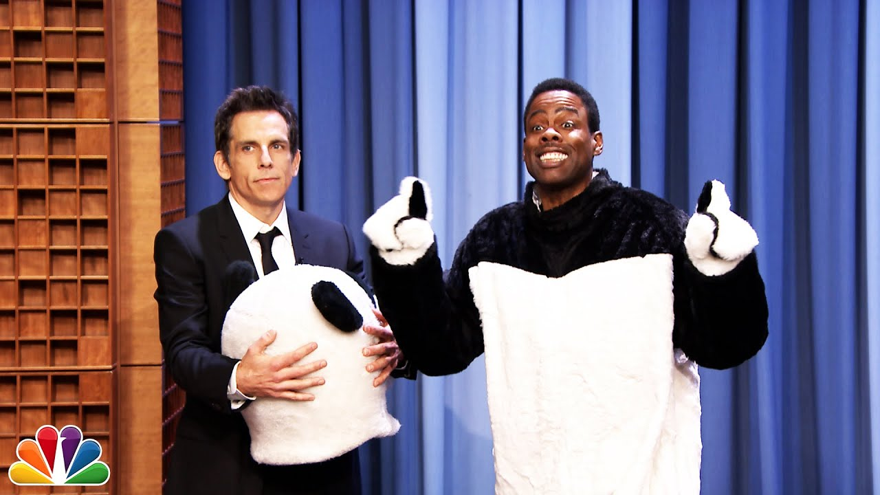 Ben Stiller Reveals Hashtag the Panda Is Chris Rock thumbnail