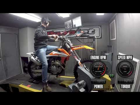 How Much Power Does The 2019 KTM 250 SX-F Make?