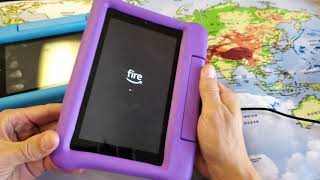 Amazon Fire 7 Kids Edition Tablet: How to FORCE A RESTART (Forced Restart)