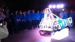 preview picture of video 'Presentación de auto eléctrico en Laprida, Buenos'