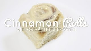best cream cheese frosting for cinnamon buns