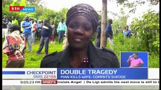 Man kills wife then commits suicide