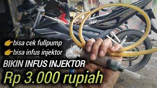 Alat Infus Injeksi Rp.3000 Rupiah | Bisa Cek Fullpump | Bisa Infus Injeksi | Membersihkan Injektor