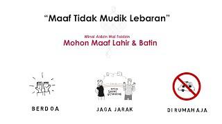Ucapan Selamat Hari Raya idul Fitri 1441 H, Minal Aidzin Wal Faidzin Maaf Tahun Ini Tak Mudik
