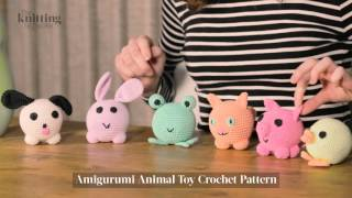 Amigurumi Animal Toy Crochet Pattern (The Knitting Network WTD015)