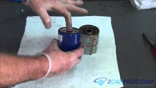 Oil Change & Filter Replacement Toyota Tacoma