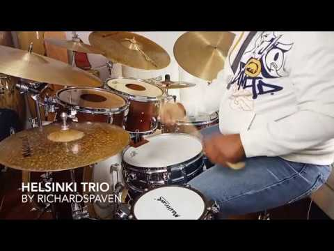 "Electro Inspired Grooves: ""Helsinki Trio"" by Richard Spaven"