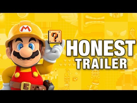 Honest Game Trailers Take Aim At Mario Maker In Latest Hilarious Video