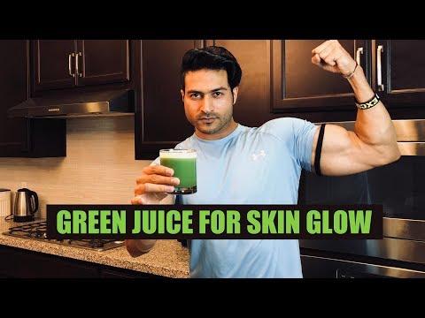 Green Juice for SKIN GLOW | Juice Recipe by Guru Mann